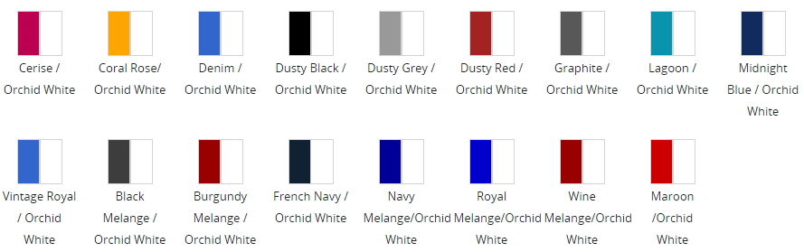 Super Deluxe Hoodie Colours
