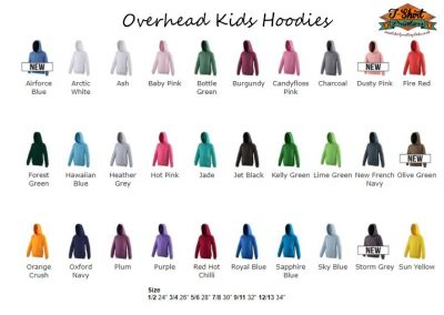 childrens leavers hoodies